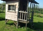 Boomhut met veranda